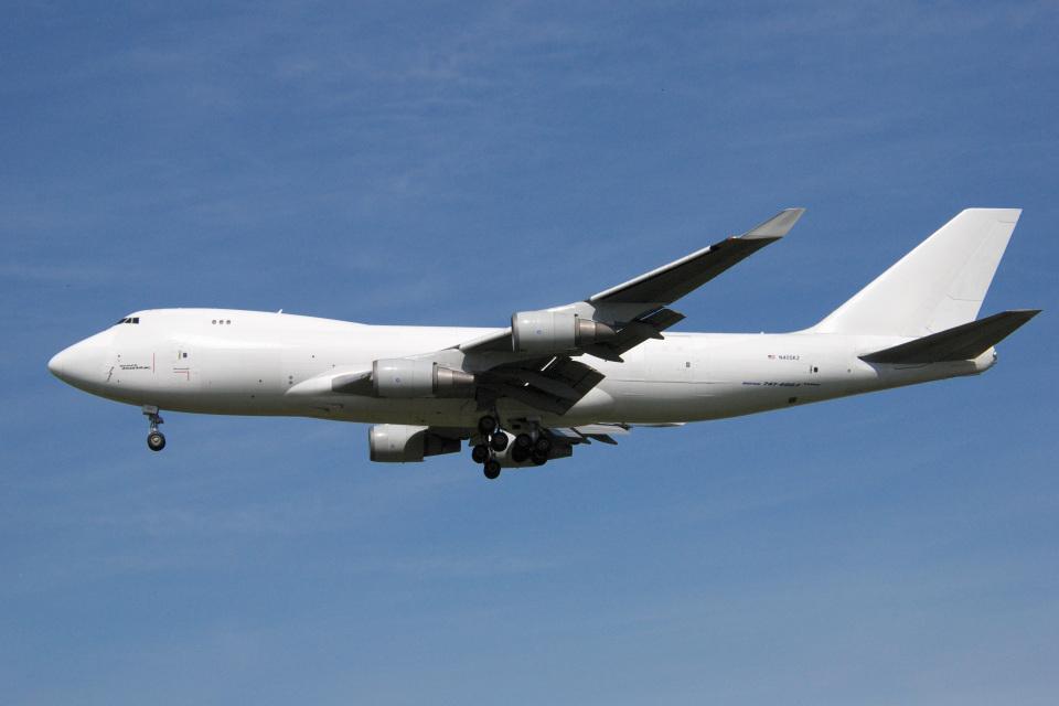 アルビレオさんのアトラス航空 Boeing 747-400 (N405KZ) 航空フォト
