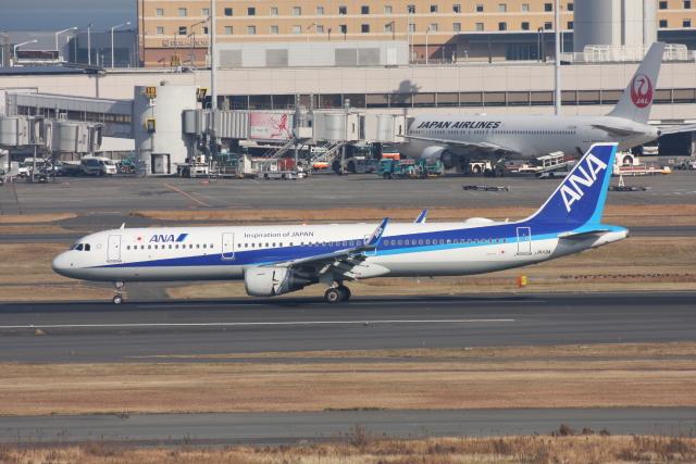 wunalaさんが、羽田空港で撮影した全日空 A321-211の航空フォト(飛行機 写真・画像)