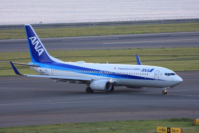 wunalaさんが、中部国際空港で撮影した全日空 737-881の航空フォト(飛行機 写真・画像)