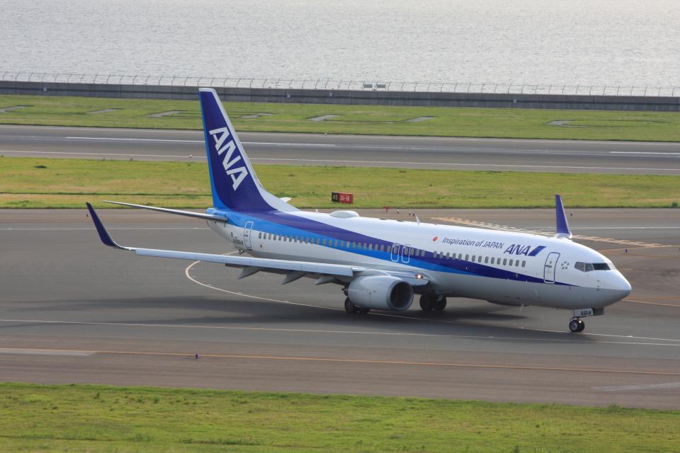 wunalaさんの全日空 Boeing 737-800 (JA66AN) 航空フォト