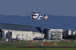 mild lifeさんが、伊丹空港で撮影したオールニッポンヘリコプター EC135T2の航空フォト(飛行機 写真・画像)