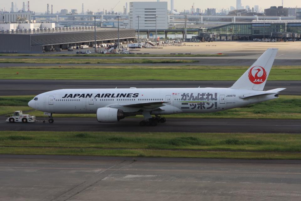wunalaさんの日本航空 Boeing 777-200 (JA8979) 航空フォト