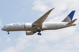walker2000さんが、成田国際空港で撮影したユナイテッド航空 787-8 Dreamlinerの航空フォト(飛行機 写真・画像)