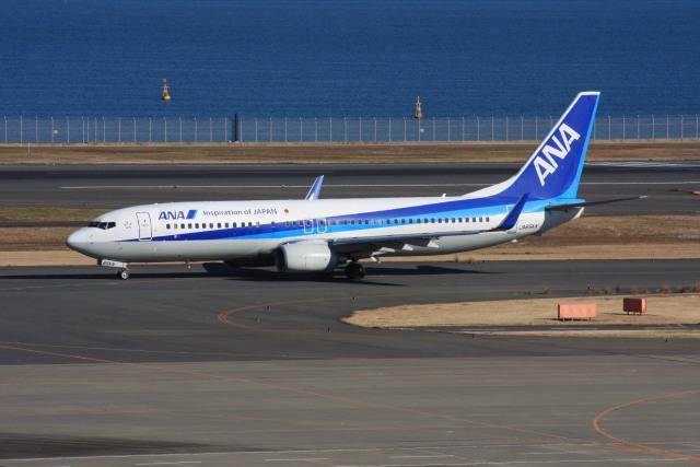 wunalaさんが、羽田空港で撮影した全日空 737-881の航空フォト(飛行機 写真・画像)