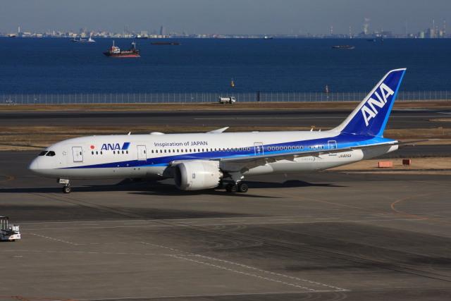 wunalaさんが、羽田空港で撮影した全日空 787-8 Dreamlinerの航空フォト(飛行機 写真・画像)