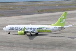 なごやんさんが、中部国際空港で撮影したソラシド エア 737-86Nの航空フォト(飛行機 写真・画像)