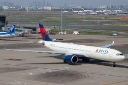 SGR RT 改さんが、羽田空港で撮影したデルタ航空 A330-941の航空フォト(飛行機 写真・画像)