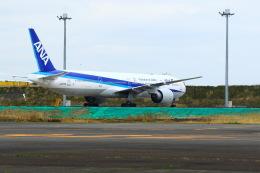 aki@ヒコーキ大好き少年さんが、羽田空港で撮影した全日空 777-381/ERの航空フォト(飛行機 写真・画像)