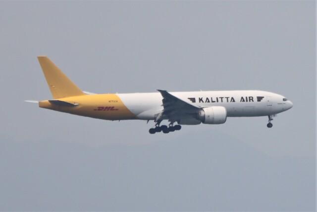 JUTENさんが、中部国際空港で撮影したカリッタ エア 777-F1Hの航空フォト(飛行機 写真・画像)