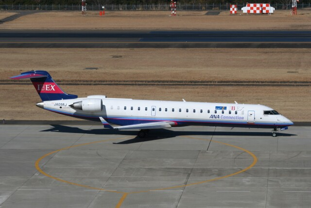 NIKEさんが、仙台空港で撮影したアイベックスエアラインズ CL-600-2C10 Regional Jet CRJ-702の航空フォト(飛行機 写真・画像)