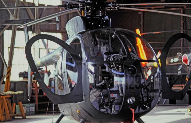 チャーリーマイクさんが、防府北基地で撮影した陸上自衛隊 OH-6Dの航空フォト(飛行機 写真・画像)