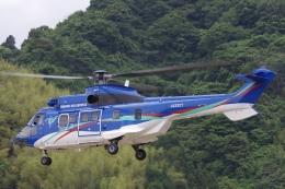 ラムさんが、静岡ヘリポートで撮影した東北エアサービス AS332L1の航空フォト(飛行機 写真・画像)