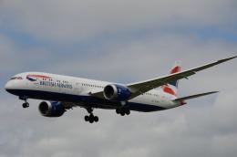 はれいろさんが、ロンドン・ヒースロー空港で撮影したブリティッシュ・エアウェイズ 787-9の航空フォト(飛行機 写真・画像)