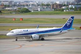 なかすぃ~さんが、伊丹空港で撮影した全日空 A320-271Nの航空フォト(飛行機 写真・画像)