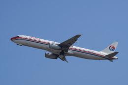 神宮寺ももさんが、関西国際空港で撮影した中国東方航空 A321-231の航空フォト(飛行機 写真・画像)