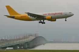 Deepさんが、関西国際空港で撮影したエアー・ホンコン A300F4-605Rの航空フォト(飛行機 写真・画像)