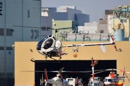 あまるめさんが、東京ヘリポートで撮影した日本個人所有 269Cの航空フォト(飛行機 写真・画像)