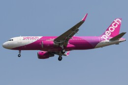 walker2000さんが、成田国際空港で撮影したピーチ A320-214の航空フォト(飛行機 写真・画像)