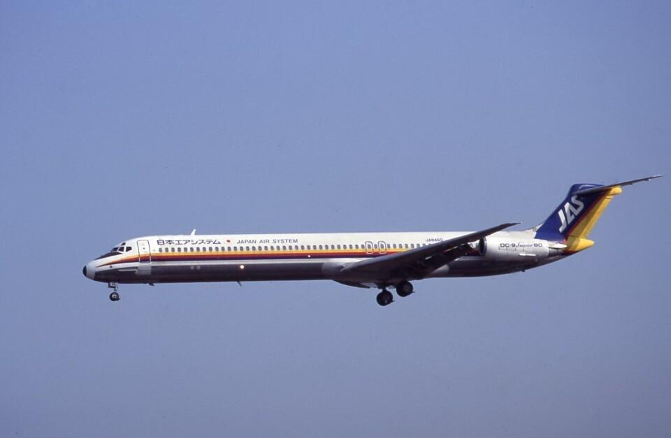 kumagorouさんの日本エアシステム McDonnell Douglas MD-80 (DC-9-80) (JA8460) 航空フォト