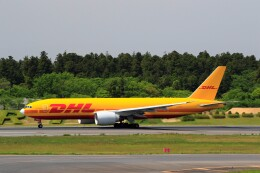 ☆ライダーさんが、成田国際空港で撮影したDHL 777-Fの航空フォト(飛行機 写真・画像)