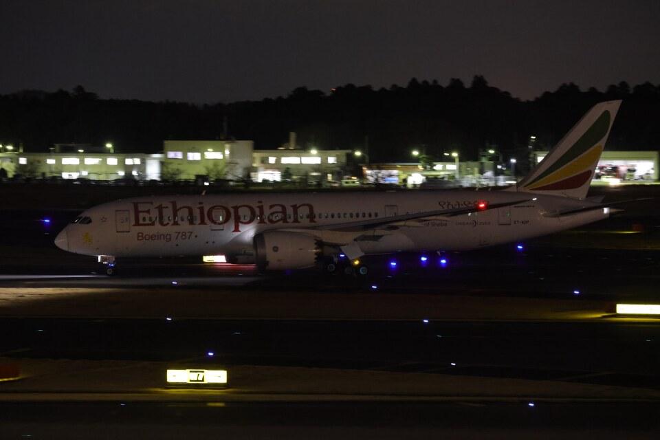 OS52さんのエチオピア航空 Boeing 787-8 Dreamliner (ET-AOP) 航空フォト
