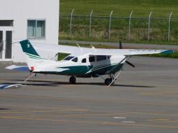 tetuさんが、札幌飛行場で撮影した共立航空撮影 T206H Turbo Stationairの航空フォト(飛行機 写真・画像)