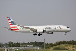 赤ちんさんが、成田国際空港で撮影したアメリカン航空 787-9の航空フォト(飛行機 写真・画像)