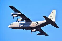 パール大山さんが、横田基地で撮影したアメリカ海兵隊 KC-130Fの航空フォト(飛行機 写真・画像)