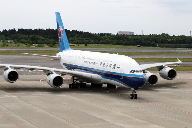 航空フォト:B-6140 中国南方航空 A380