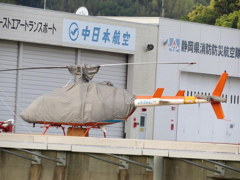 チダ.ニックさんの新日本ヘリコプター Bell 206/406 (JA9847) 航空フォト