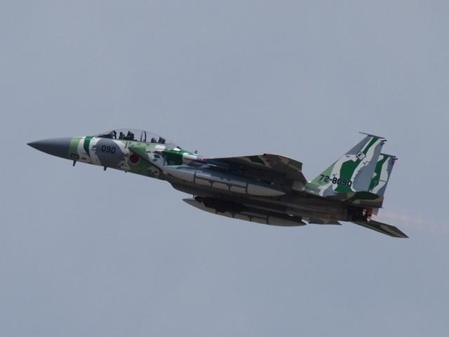 FT51ANさんが、小松空港で撮影した航空自衛隊 F-15DJ Eagleの航空フォト(飛行機 写真・画像)