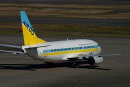 リゾッチャ(紫)さんが、羽田空港で撮影したAIR DO 737-54Kの航空フォト(飛行機 写真・画像)
