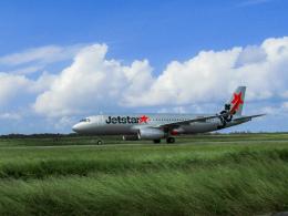 ノリださんが、下地島空港で撮影したジェットスター・ジャパン A320-232の航空フォト(飛行機 写真・画像)