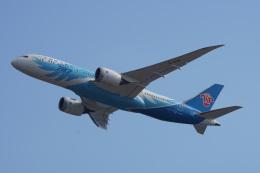 神宮寺ももさんが、関西国際空港で撮影した中国南方航空 787-8 Dreamlinerの航空フォト(飛行機 写真・画像)