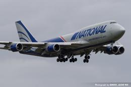 kina309さんが、成田国際空港で撮影したナショナル・エアラインズ 747-428(BCF)の航空フォト(飛行機 写真・画像)