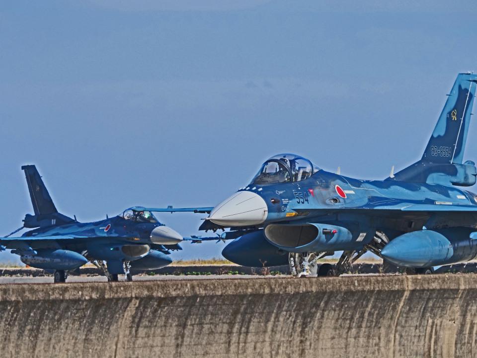 がいなやつさんの航空自衛隊 Mitsubishi F-2A (93-8554) 航空フォト