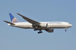Deepさんが、成田国際空港で撮影したコンチネンタル航空 777-224/ERの航空フォト(飛行機 写真・画像)