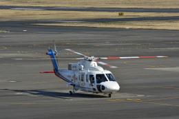 Gambardierさんが、岡南飛行場で撮影した高知県消防・防災航空隊 S-76Bの航空フォト(飛行機 写真・画像)