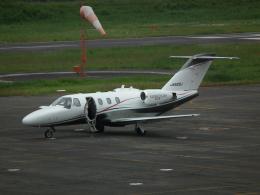 ヒコーキグモさんが、岡南飛行場で撮影した日本個人所有 525 Citation CJ1の航空フォト(飛行機 写真・画像)