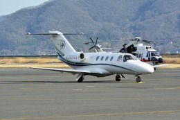 Gambardierさんが、岡南飛行場で撮影した韓瑞大学校 525 CitationJetの航空フォト(飛行機 写真・画像)