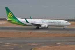 rjジジィさんが、中部国際空港で撮影した春秋航空日本 737-8ALの航空フォト(飛行機 写真・画像)