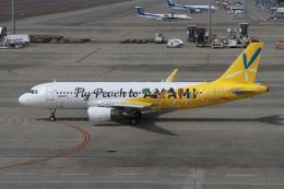 rjジジィさんが、中部国際空港で撮影したピーチ A320-214の航空フォト(飛行機 写真・画像)