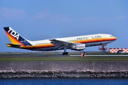 パール大山さんが、羽田空港で撮影した日本エアシステム A300B2K-3Cの航空フォト(飛行機 写真・画像)