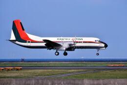 パール大山さんが、羽田空港で撮影した東亜国内航空 YS-11A-212の航空フォト(飛行機 写真・画像)