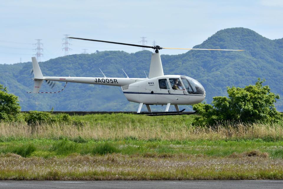 Gambardierさんの日本法人所有 Robinson R44 (JA005R) 航空フォト