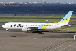 chrisshoさんが、羽田空港で撮影したAIR DO 767-381/ERの航空フォト(飛行機 写真・画像)