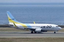東亜国内航空さんが、中部国際空港で撮影したAIR DO 737-781の航空フォト(飛行機 写真・画像)