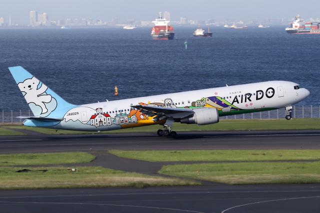 chrisshoさんが、羽田空港で撮影したAIR DO 767-381の航空フォト(飛行機 写真・画像)