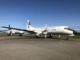 musaeru25cさんが、能登空港で撮影した日本航空学園 YS-11A-500の航空フォト(飛行機 写真・画像)