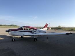 musaeru25cさんが、能登空港で撮影した日本航空学園 PA-28-161 Cherokee Warrior IIの航空フォト(飛行機 写真・画像)